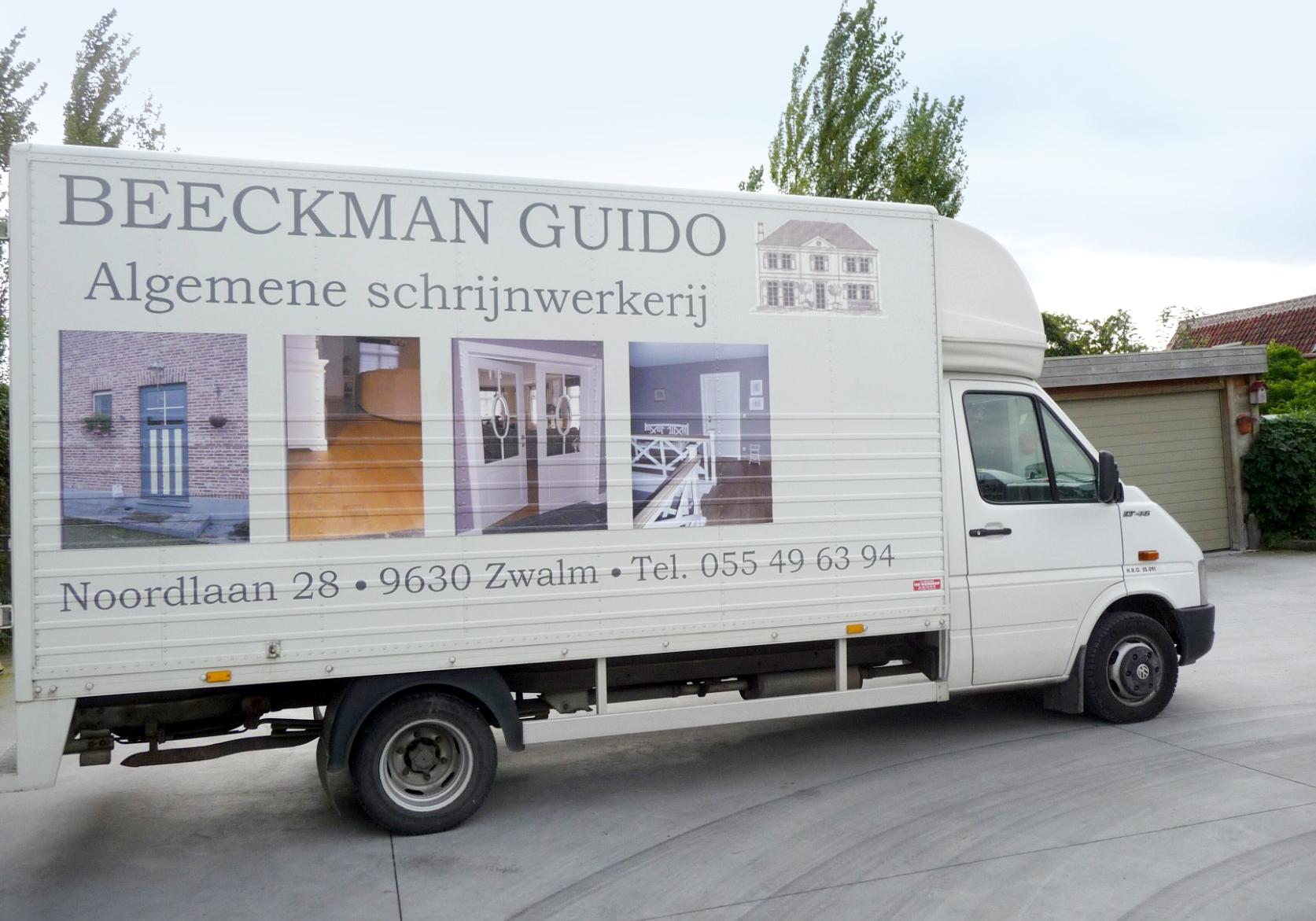 Beeckman Guido binnenschrijnwerk en buitenschrijnwerk op maat
